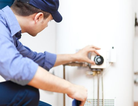 Professionally installed hot water systems
